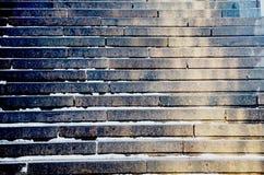 Textura do teste padrão das escadas Imagens de Stock Royalty Free