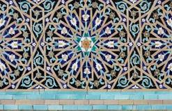 Textura do teste padrão de mosaico Fotos de Stock Royalty Free