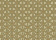 Textura do teste padrão do Quilt do triângulo Fotos de Stock Royalty Free