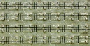 textura do tijolo 3d Imagem de Stock