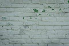 Textura do tijolo com riscos e quebras Fotografia de Stock