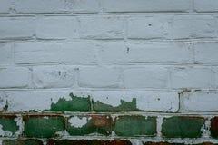 Textura do tijolo com riscos e quebras Fotografia de Stock Royalty Free