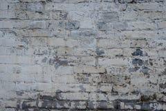 Textura do tijolo com riscos e quebras Imagens de Stock Royalty Free
