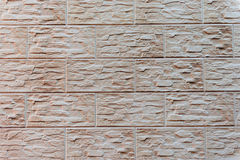 Textura do tijolo com riscos e quebras Imagens de Stock