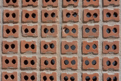 Textura do tijolo, testes padrões do tijolo Imagens de Stock