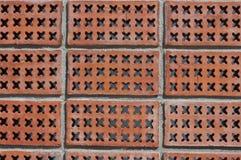 Textura do tijolo, testes padrões do tijolo Foto de Stock Royalty Free