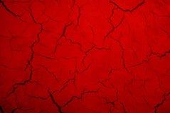 Textura do vermelho de Grunge Foto de Stock Royalty Free