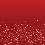 Textura do vermelho do brilho Imagem de Stock