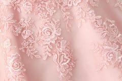 Textura do vestido de casamento Foto de Stock Royalty Free