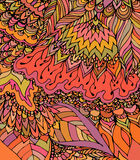 Textura do vetor com flores abstratas Molde do verão ou do outono Fotos de Stock