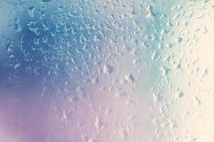 Textura do vidro molhado Imagens de Stock Royalty Free