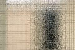 Textura do vidro prendido Imagem de Stock Royalty Free