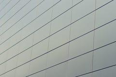 Textura do vidro que bulding no centro de negócios Fotos de Stock