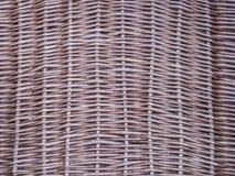 Textura do vime/rattan Imagem de Stock