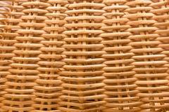 textura do Vime-trabalho Fotografia de Stock