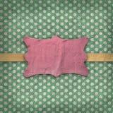 Textura do vintage com teste padrão retro Imagens de Stock Royalty Free