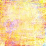 Textura do vintage da arte para o fundo no estilo do grunge Com differe Fotografia de Stock