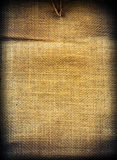 Textura do vintage da tela Imagem de Stock