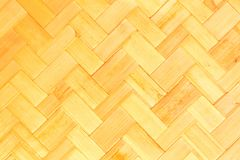 Textura do weave de bambu Foto de Stock Royalty Free