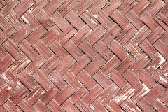 Textura do weave de bambu Imagem de Stock