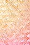Textura do weave de bambu Imagens de Stock Royalty Free