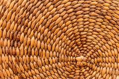 Textura do weave de cesta Foto de Stock