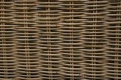 Textura do weave de cesta Fotos de Stock