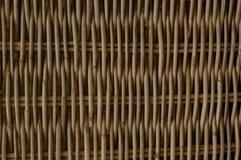 Textura do weave de cesta Imagens de Stock Royalty Free