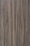 Textura do Zebrawood Foto de Stock Royalty Free