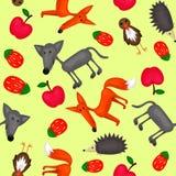 Textura dos animais da floresta Imagens de Stock