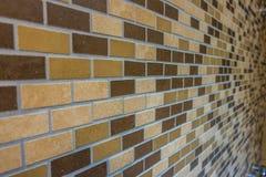 Textura dos azulejos de Brown Imagem de Stock Royalty Free