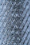 Textura dos blocos de vidro foto de stock