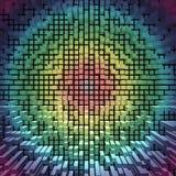 Textura dos blocos em um fundo da cor Imagens de Stock Royalty Free