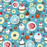 Textura dos bolos Imagem de Stock
