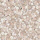 Textura dos botões Imagens de Stock Royalty Free