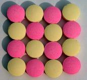 Textura dos comprimidos Imagens de Stock Royalty Free