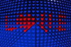 A textura dos corações Foto de Stock Royalty Free