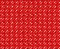 Textura dos corações vermelhos Imagens de Stock Royalty Free
