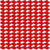 Textura dos corações vermelhos Fotos de Stock Royalty Free