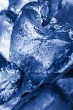 Textura dos cubos de gelo Fotografia de Stock Royalty Free