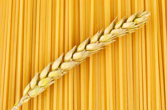 Textura dos espaguetes foto de stock