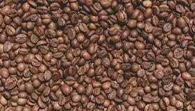 Textura dos feijões de café Imagens de Stock
