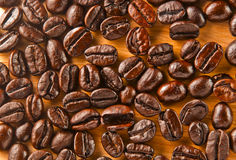 Textura dos feijões de café Imagens de Stock Royalty Free