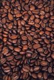 Textura dos feijões de café Fotos de Stock Royalty Free