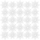 Textura dos flocos de neve Foto de Stock Royalty Free