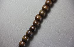 A textura dos grânulos de madeira Imagem de Stock