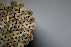 Textura dos lápis Fotos de Stock Royalty Free