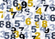 Textura dos números Imagem de Stock Royalty Free