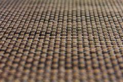 Textura dos placemats da sala de jantar Fotos de Stock