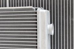 Textura dos radiadores refrigerando do motor novo Imagem de Stock Royalty Free